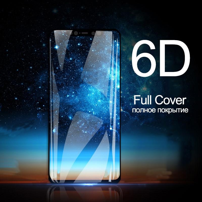 6D закаленное стекло для Xiaomi Mi 9 SE 8 Стекло для Mi 8 световая защита экрана на Xiaomi Mi 9 SE 8 Lite A2 Pocophone F1 A1 стекло