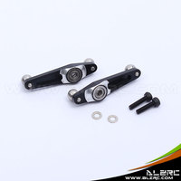 ALZRC 450 Pro Metal SF Control Bright Black Rocker Arm Group HP45007