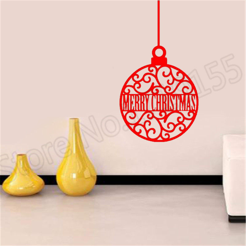 YOYOYU Wall Decal Christmas Decoration Remove Vinyl Stickers merry christmas quotes wall stickers Modern decal Decor ZW61