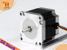 цена на No tariff for EU &USA! Wantai 1PC Nema23 Stepper Motor 57BYGH627 3.0A  270oz-in 76mm 4-lead CE ROHS ISO CNC Router 3040