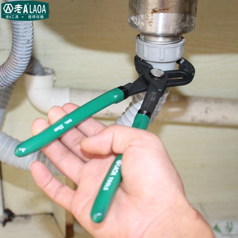 LAOA 10 palcové multifunkční kleště na vodní čerpadlo - Ruční nářadí - Fotografie 4