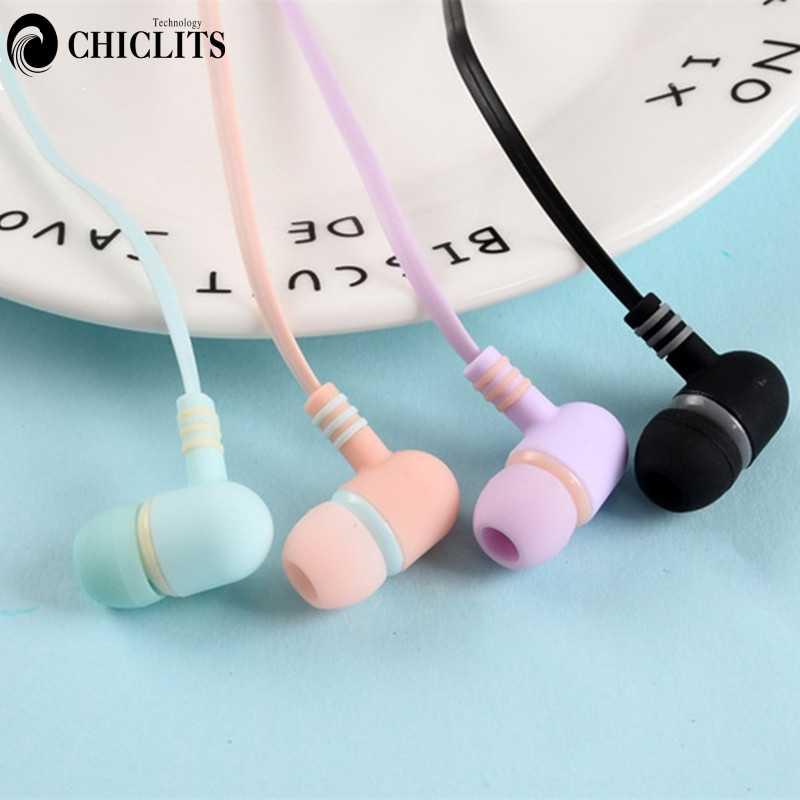 حبة شكل ستيريو سماعة مع هيئة التصنيع العسكري في الأذن سماعات الأذن مع الميكروفون 3.5 مللي متر آيفون شاومي سامسونج الهاتف الاطفال هدية