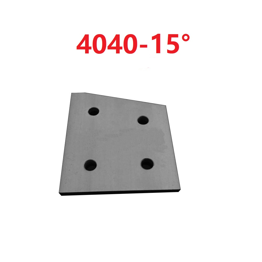 1PCS 15 / 30 / 60 degree 4040 Strengthen Plate Joint Board Plate Corner Angle Bracket Connection Joint for Aluminum Profile цены
