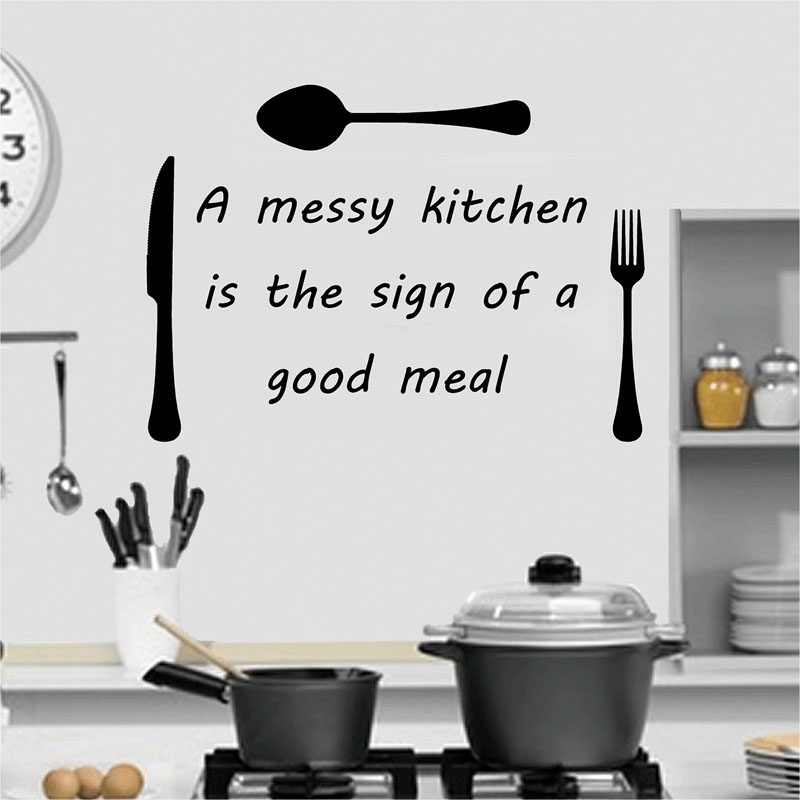 achetez en gros cuisine autocollant citations en ligne à des