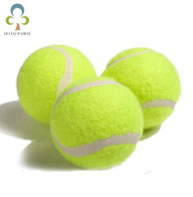 1 Pc 6.3 centímetros Bolas De Tênis Para Iniciantes ou Trainning Esporte Diversão Ao Ar Livre do animal de Estimação Brinquedos Do Cão Bola de Tênis GYH