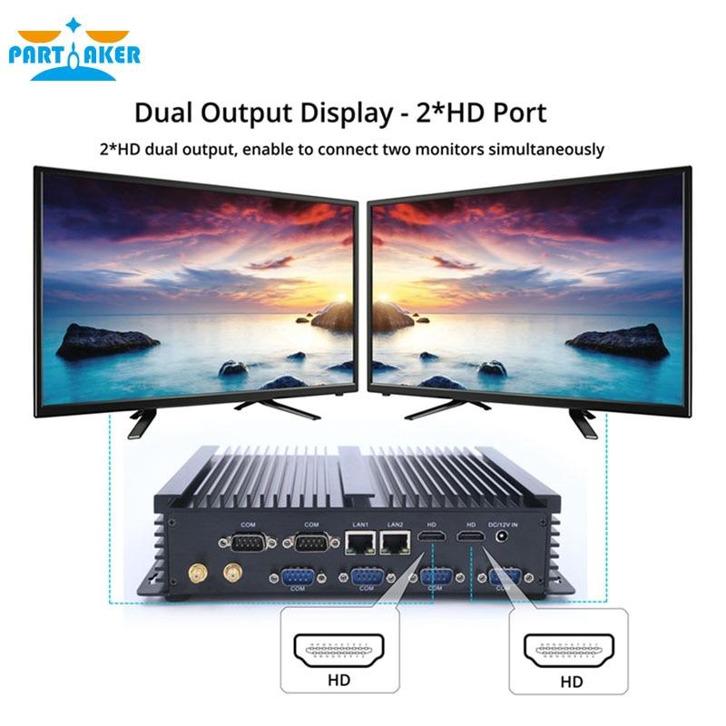 US $219 18 22% OFF Mini PC i3 5005U Windows 10 Dual Core Mini Sever  Computer with 2 Lan 6 RS232 Small Desktop Hdmi Wifi Usb 3 0-in Mini PC from