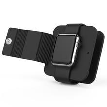 Зарядное устройство бумажник для наручных часов Apple Watch 4 3/2/1 наручных часов iwatch, ремешок мягкий силиконовый чехол для хранения стента поддержка Зарядное устройство посылка аксессуары для часов