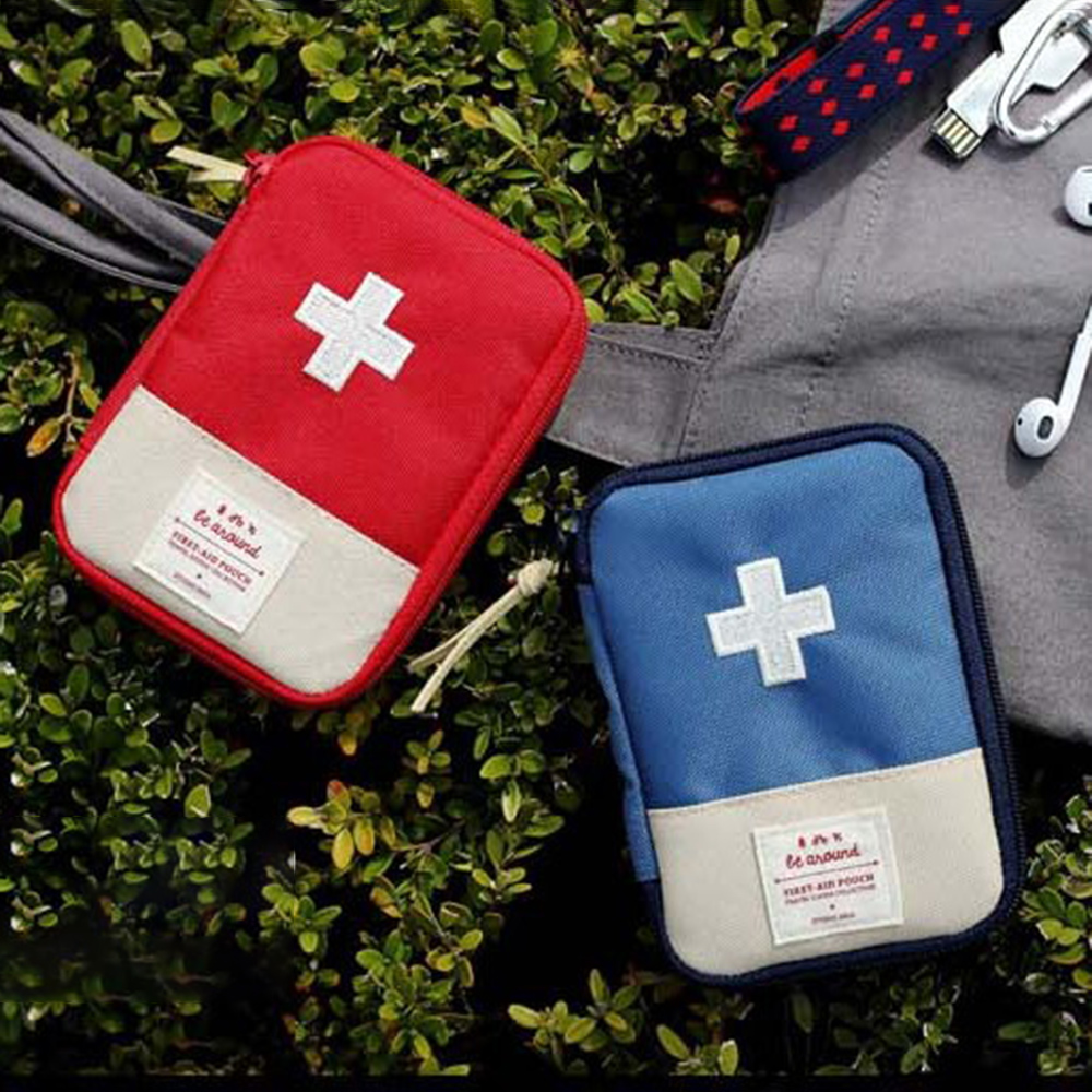 Tactical Protable First Aid Kit Pouch Travel Survival Home Car Military Medical Pill Box Safe Wilderness Rescue Bag for Camping
