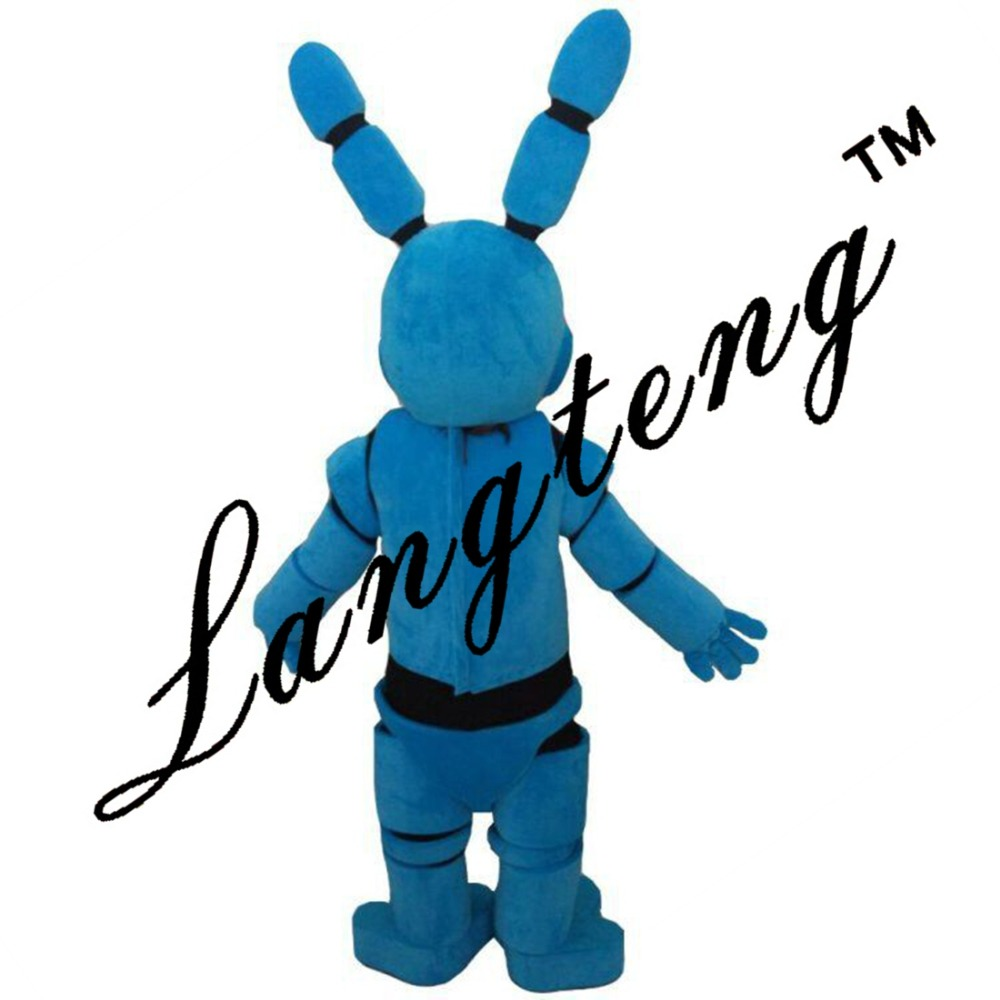 Five Nights At Freddy 39 s Fnaf Toy Creepy Blue Bunny Mascot Costumes For Adults Christmas Halloween Outfit Free Shipping 2019New in Mascot from Novelty amp Special Use