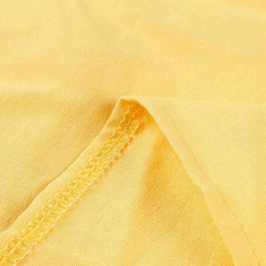 & 35 드레스 여성 2019 4xl 5xl 플러스 사이즈 드레스 옐로우 여름 스타일 feminino vestido 코튼 캐쥬얼 숙녀 드레스 sukienki
