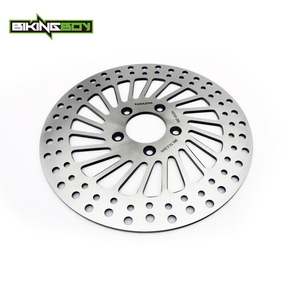 BIKINGBOY Front Brake Disc Rotor for HARLEY DAVIDSON Sportster 883 1200 XL DYNA FXDC FXDWG 1450