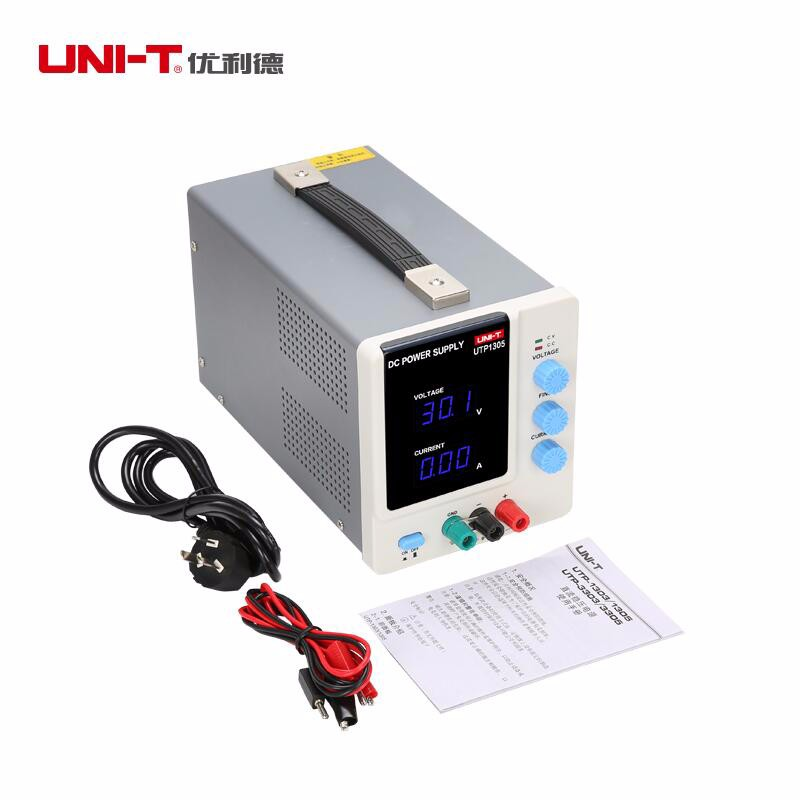 UNI-T UTP1305 High Precision Programmable Adjustable Digital DC Power Supply 32V/5A (Input 115/230VAC) dc power supply uni trend utp3704 i ii iii lines 0 32v dc power supply