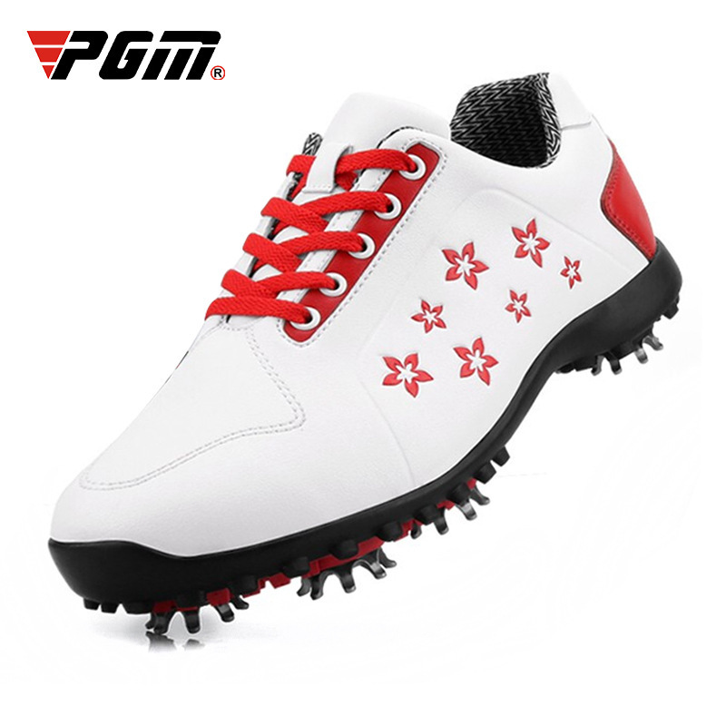 PGM Golf Shoes Ladies Waterproof Shoes Movable Nail Shoes Printed Tide ShoesPGM Golf Shoes Ladies Waterproof Shoes Movable Nail Shoes Printed Tide Shoes