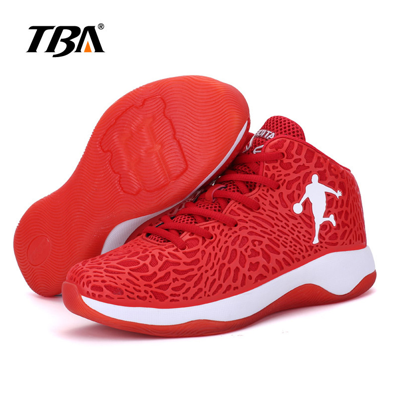 2019 Man Light Jordan Basketball Shoes Unisex Breathable Anti-slip Basketball Sneakers Men Lace-up Sports Gym Ankle Boots 37-45