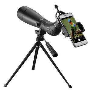 Image 5 - BOBLOV B60HD 20 60X60 Spotting kapsamı su geçirmez BAK4 prizma + telefon dağı ile Tripod hedef çekim için