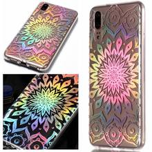 Slim Phone Back Case For Huawei Mate 10 Pro Honor 9 P20 P8 P9 Lite Mini 2017 Y3 Y5 Y6 2018 Shining Cover Soft Silicone Capa P01F(China)