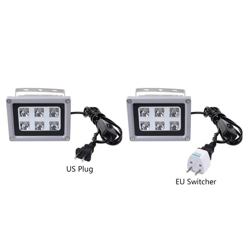 UV De Durcissement De Résine Lumière 405nm Solidifier Photosensible LED Lampe 60 w Sortie Accessoires pour SLA DLP 3D Imprimante US EU
