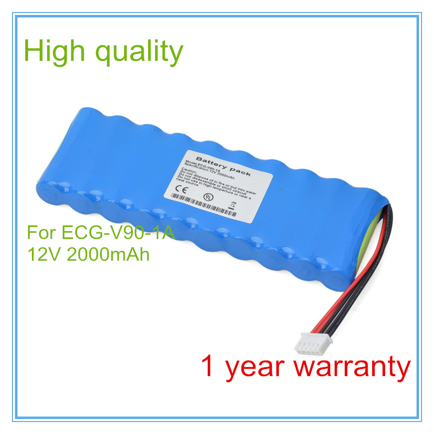 Wholesale ECG Battery Replacement For ECG-V90-1A Medical battery High Quality 100%NEW,1year Medical apparatus battery