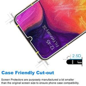 Image 4 - 삼성 갤럭시 A50 화면 보호기에 대 한 5Pcs 강화 유리 삼성 A50 유리에 대 한 보호 유리에 9H 2.5 d 전화
