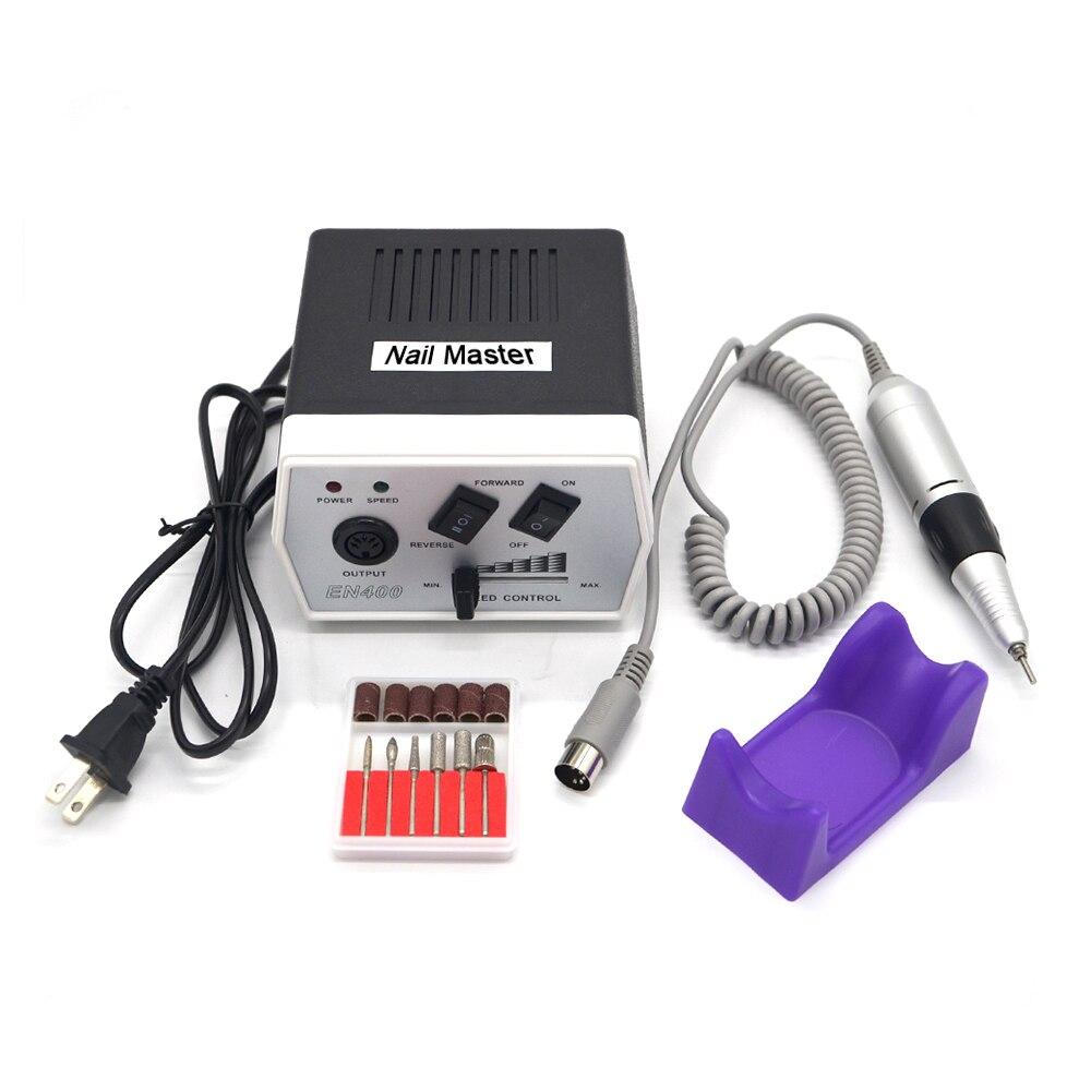 30000 tr/min noir nail art perceuse ongles équipement manucure outils pédicure acrylique gris électrique Nail Art perceuse