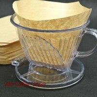 Coffee Dripper Coffee Filter Cup 20 Pcs Per Bag Coffee Paper Filter Special Filter Paper Cup