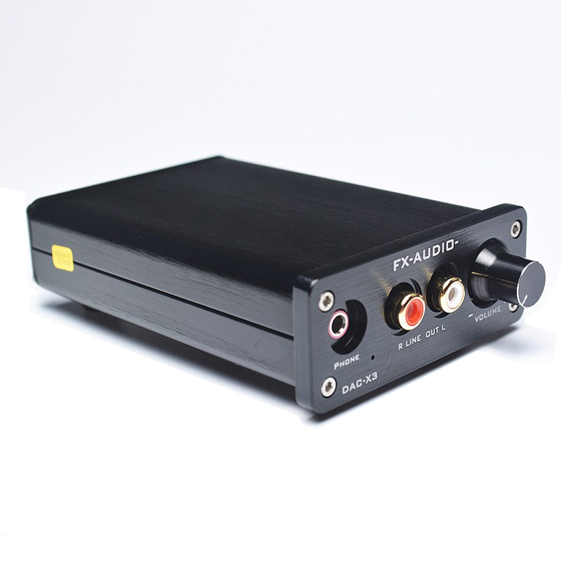 все цены на FEIXIANG FX-AUDIO DAC-X3 Fiber Coaxial USB Decoder 24BIT/192Khz USB DAC Headphone 192khz MINI audio amplifiers