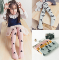 New Children Cartoon Clouds Pony Cotton Knee-high Stockings For Girls