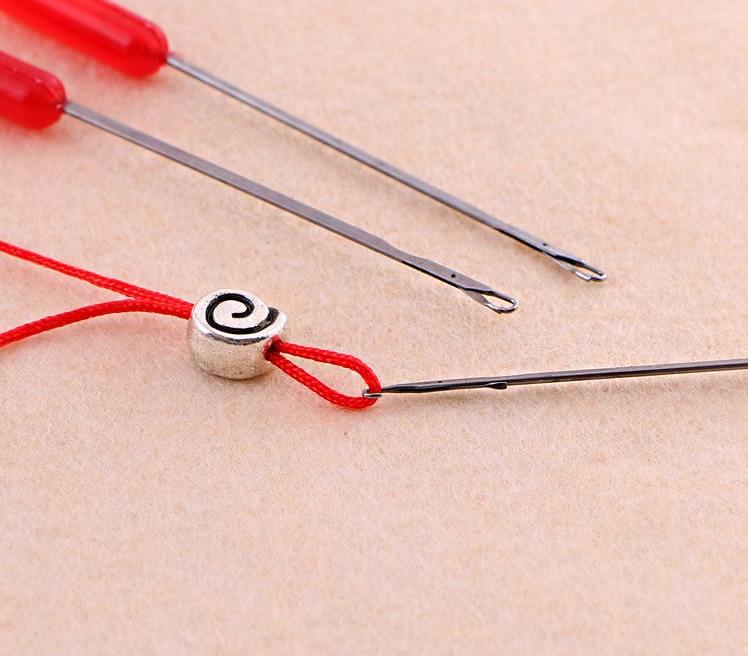 1 Stück Fashion Nützliche Perlnadeln Threading Werkzeug Für Diy Schmuck Werkzeug (k05008)