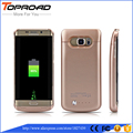 4200mah Battery Clip Case For Samsung Galaxy S6 S 6 Edge Plus External Backup Charger Cases Pack Power Bank Protective Cover