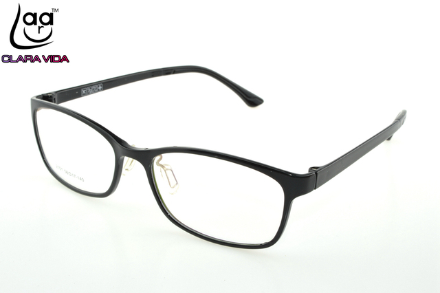 5d7f67bff9a Only 7G  TR90 Ultra Light Memory Nerd Glasses Frame Black Custom Made Optical  Prescription READING