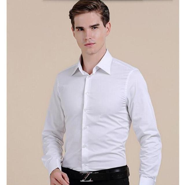 Mode Schöne Männer Shirt Maßgeschneiderte Men Shirt Weiß Gute