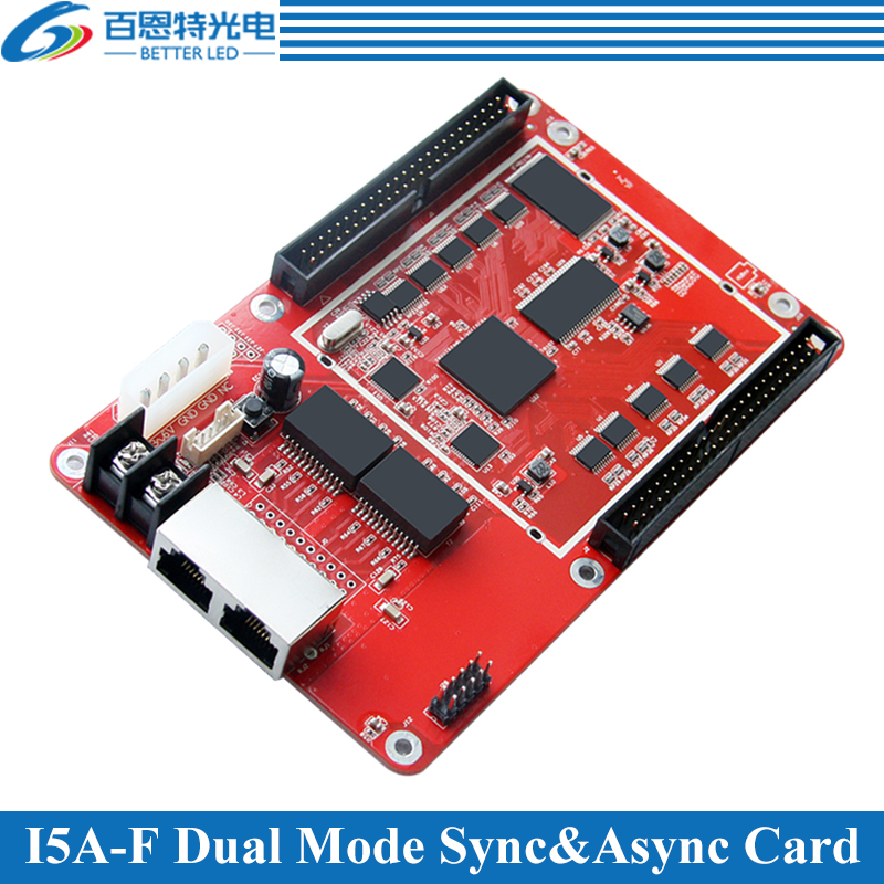 Colorlight I5A-F(Original A8) Sync And Async Dual-mode System 256*256 Pixels RGB Full Color Video LED Display Control Card