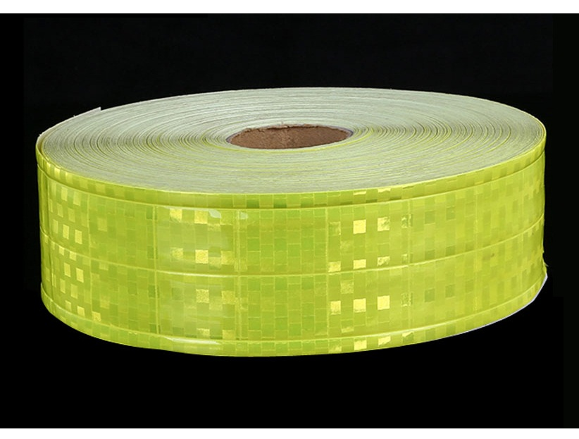 5cm pvc reflective tape small square shape flashing reflective at night safety clothing accessories