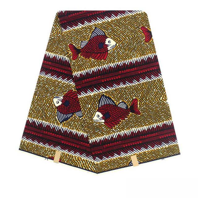 ON SALE!Factory price Hollandais Wax Cotton Fabric African Wax dutch wax block prints fabric nigerian style wax