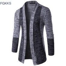 FGKKS 2017 Hot Sale Brand-Clothing Spring Cardigan Male Fash