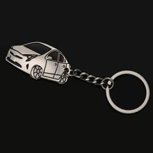 Novo Design 3D Keychain do Anel Chave Chaveiro + Tampa do Caso Remoto Chave do carro styling Acessórios Para Toyota Prius Prime 2017