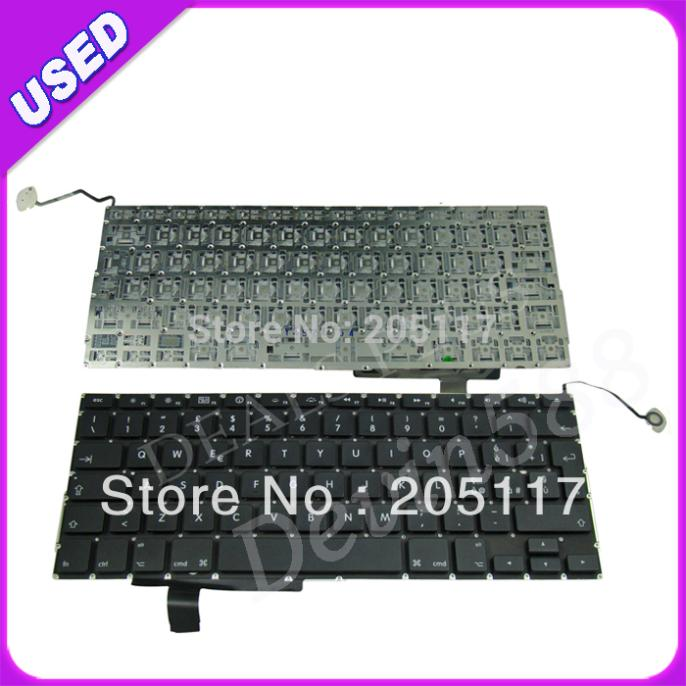 5PCS /LOT KEYBOARD FOR Macbook pro 17''A1297 ITALY LAPTOP KEYBOARD TESTED ! цена