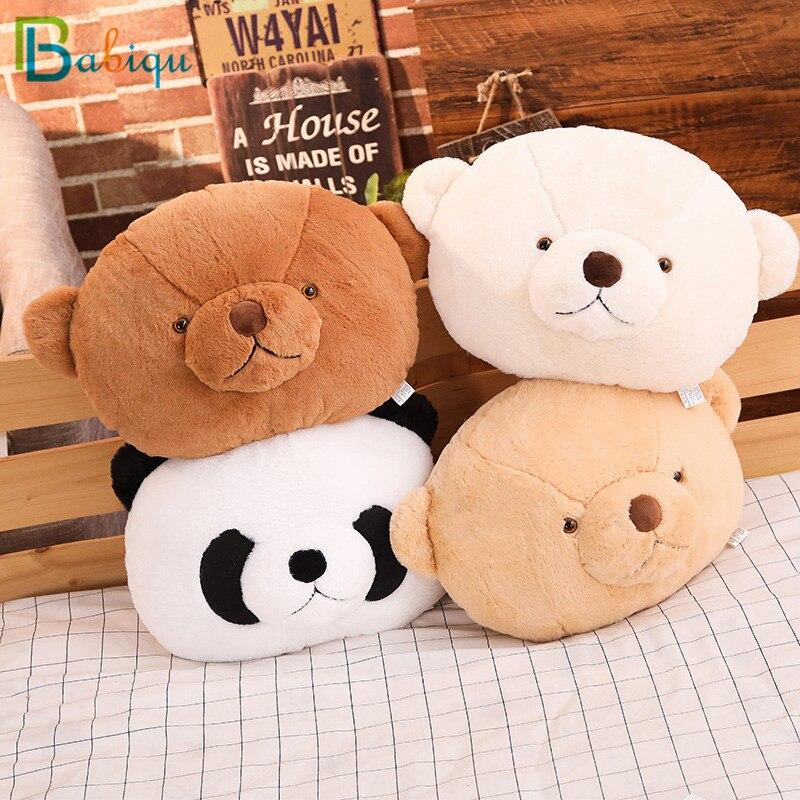 1 Pc 40 Cm Cartoon Teddybeer & Panda Pluche Kussens Gevuld Zacht Dier Pluche Speelgoed Kawaii Pop Voor Kinderen Sofa Decor Valentine Gift Geavanceerde TechnologieëN