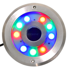 304/316 stainless steel 27W LED Underwater Lamps Pool Light IP68 Waterscape Light 24V Fountain LED Light Aquarium LED