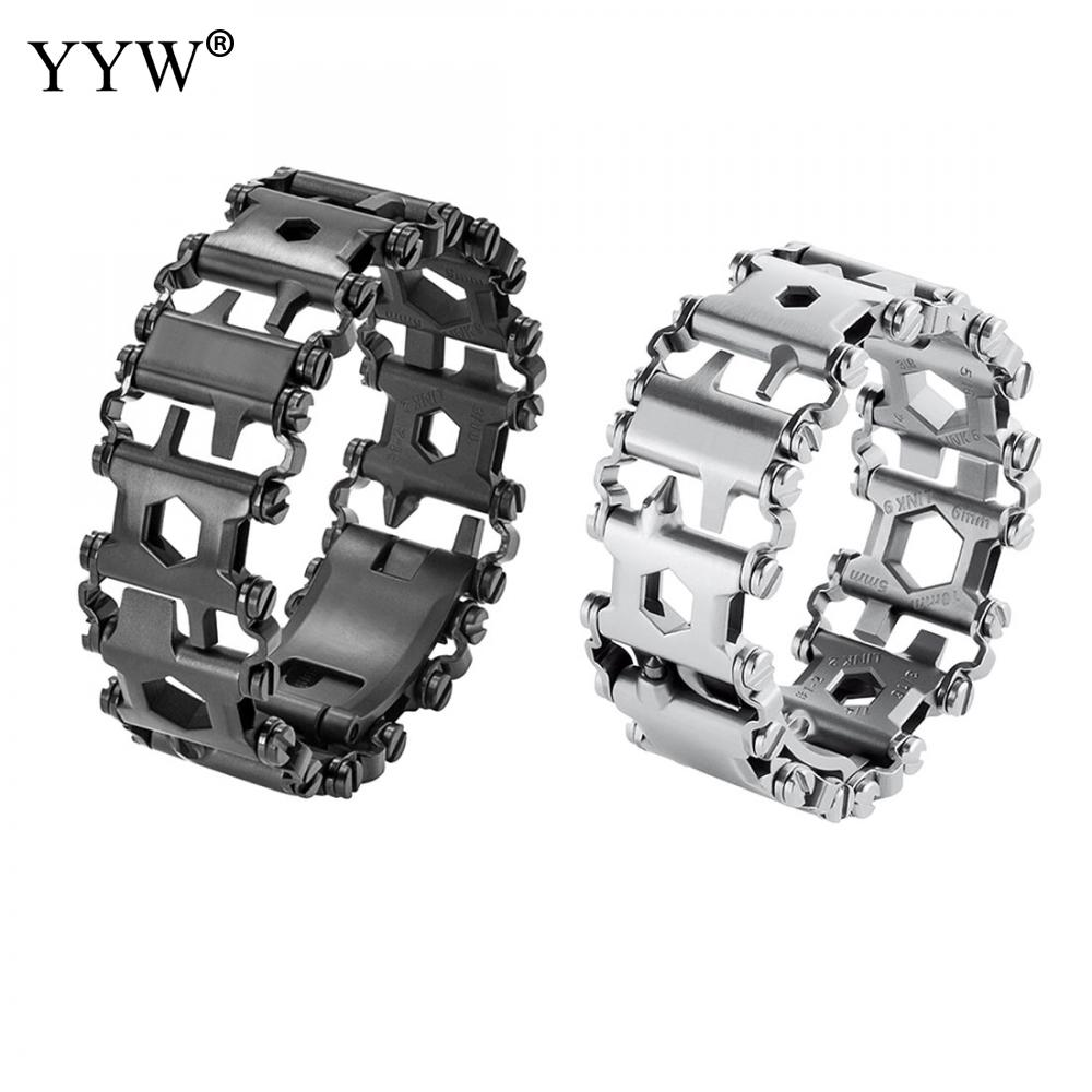 Punk Link Chain Mens Womens Bracelets Chains Fashion Jewelry Charm Bracelets Wristband Bracelets 2016 chain link charm china wholesaler top quality mens and womens wide titanium fashion bracelet jewelry