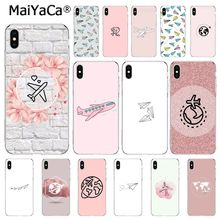 MaiYaCa Travel the world paper plane aircraft   Coque Phone Case For iphone 11 Pro 11Pro MAX 8 7 6 6S Plus X XS MAX 5 5S SE XR yinuoda travel the world paper plane aircraft novelty fundas phone case cover for apple iphone 8 7 6 6s plus x xs max 5 5s se xr