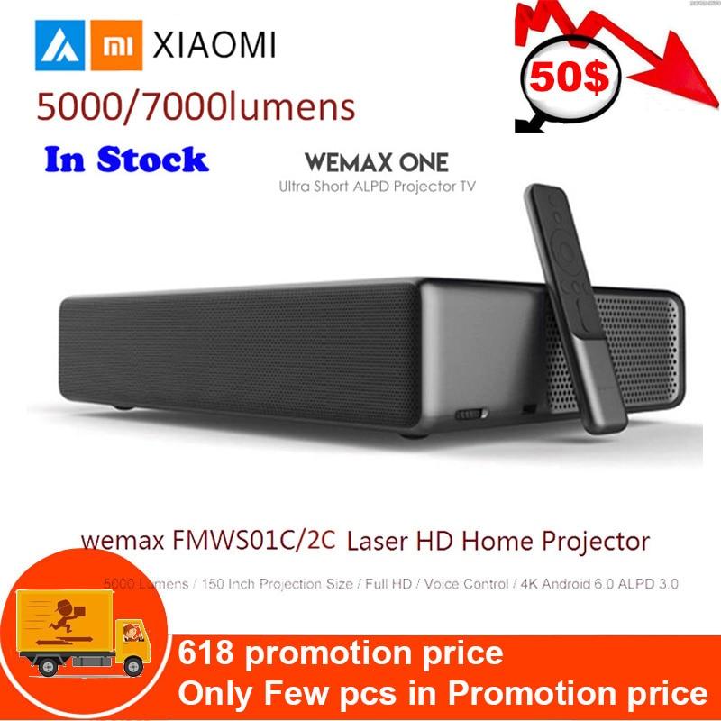 Xiao mi mi WEMAX ONE PRO Lumens Projetor Laser Android TV 150