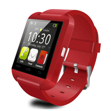 keyou U8 clock smart watch sleep monitor pedometer remote camera bluetooth smartwatch telefon 1 44 for