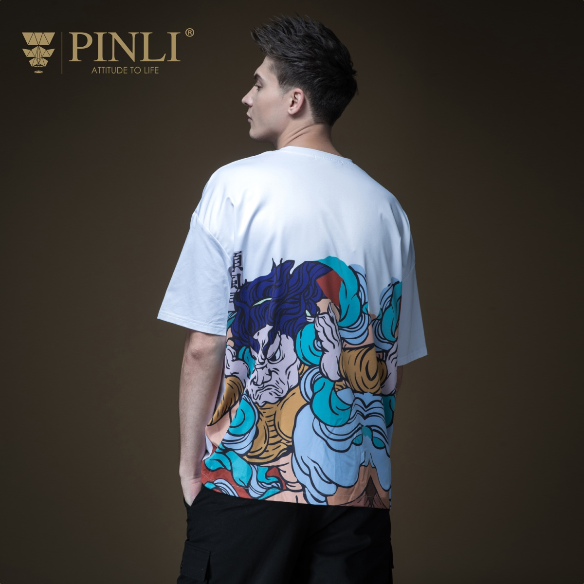 US $24 05 49% OFF|2019 Linkin Park Limited Pinli Product Made The New  Summer Men's Wear Loose Sleeve Printing Short T shirt Male Coat  B192411399-in