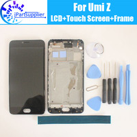 Umi Z LCD Display Touch Screen Digitizer Frame Assembly 100 Original New LCD Touch Digitizer For