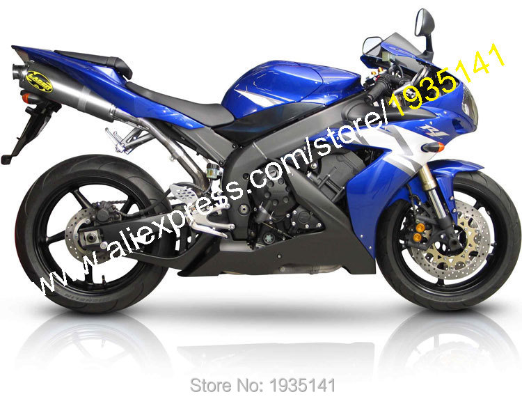 Hot Sales,For Yamaha YZF-R1 YZF R1 2004 2005 2006 YZF1000 04 05 06 YZFR1 YZF 1000 R1 Motorcycle Fairing Kit (Injection molding)