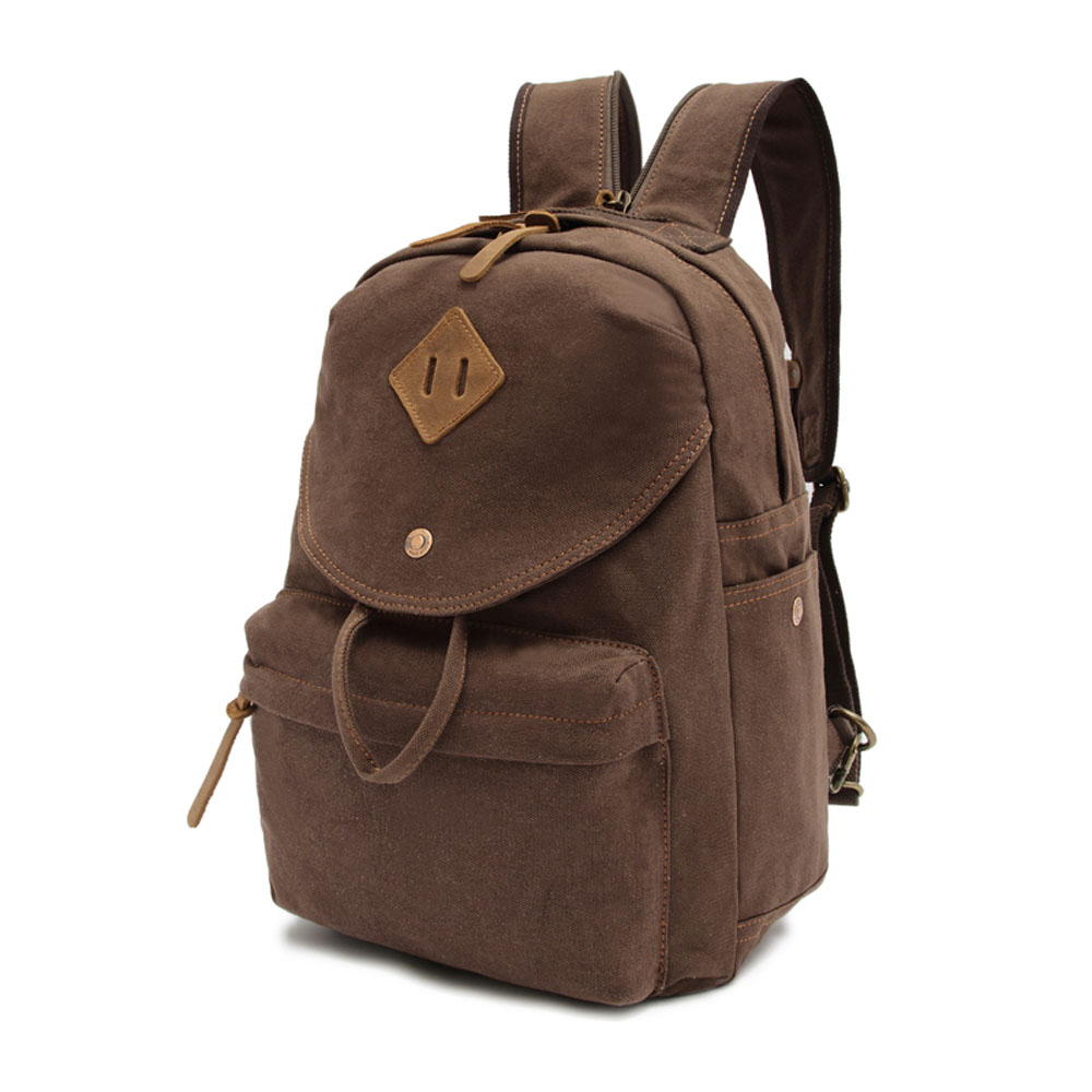 ФОТО 2017 Women Stylish Vintage Mini Canvas Backpack Simple Style School Shoulder Messenger Chest Bag Men Backpacks