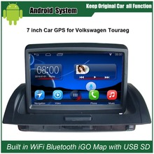 Фотография 7 inch Touch screen Win ce 6.0 system Car audio video player for VW Touareg