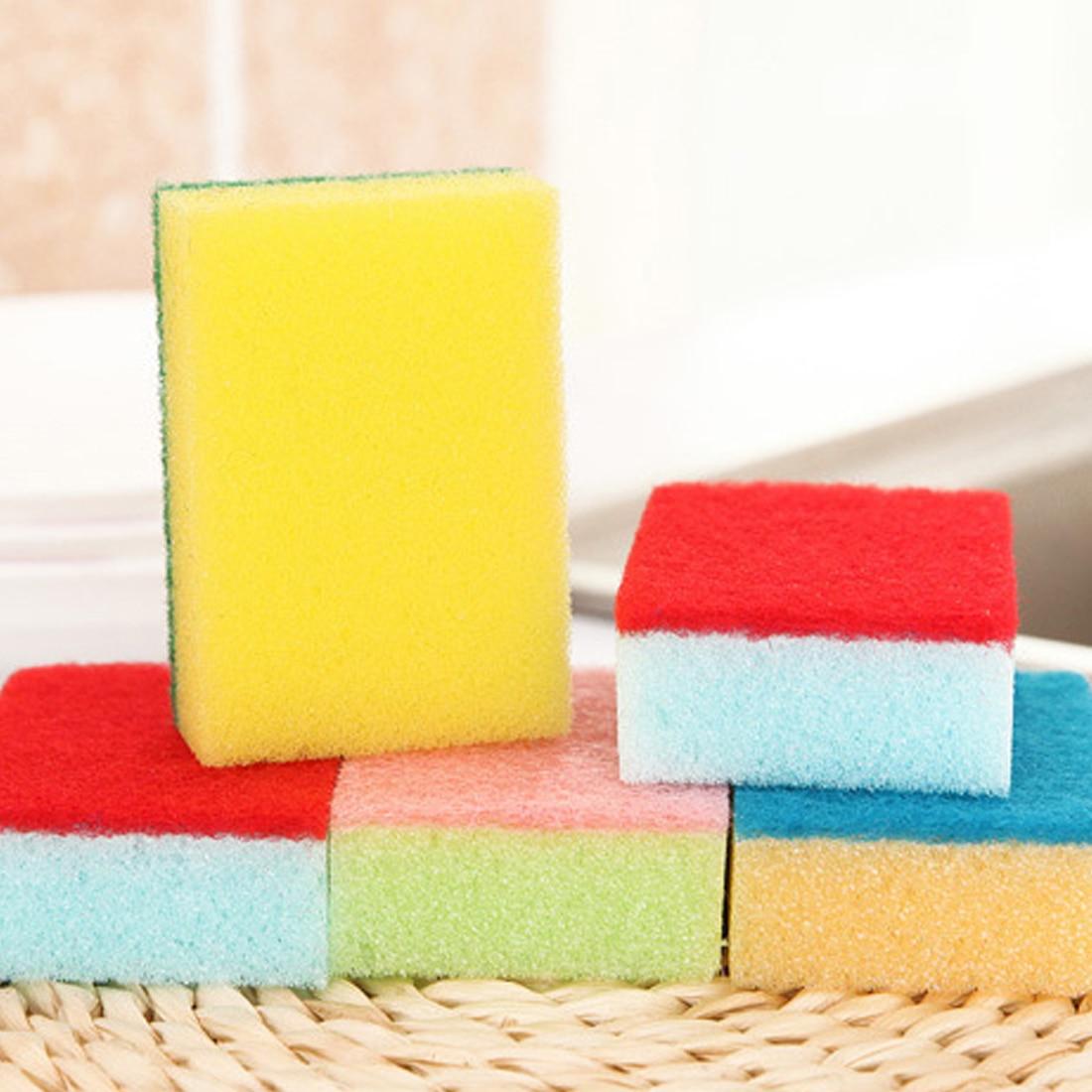 Best Nano Sponge Magic Eraser For Removing Rust Cleaning Cotton Emery Sponge Kitchen Supplies Descaling Clean Rub Pot