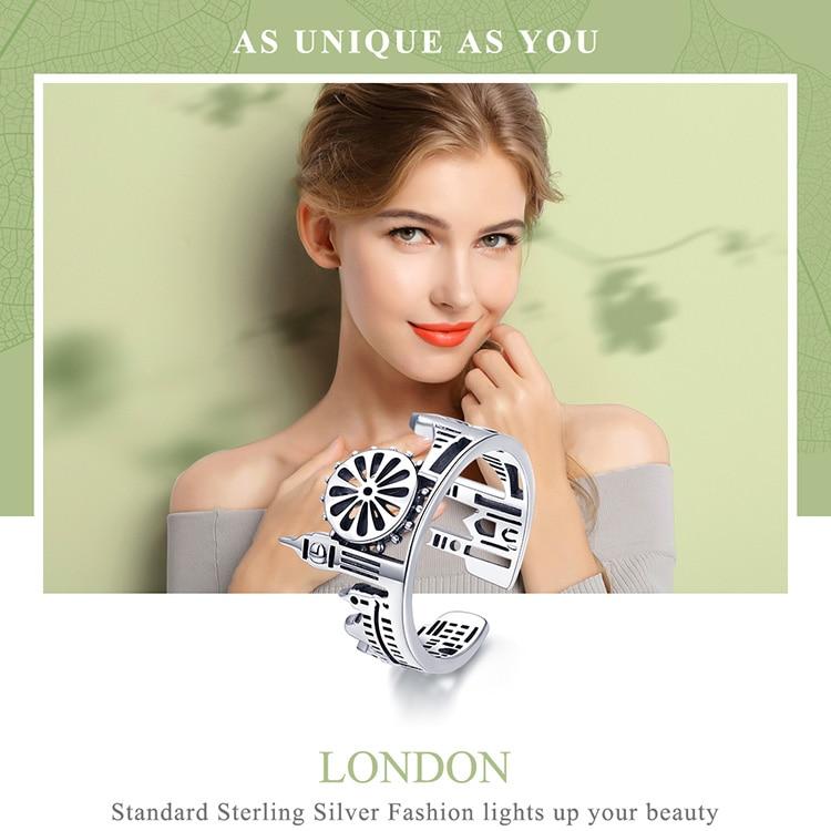 Sterling Silver London City Finger Rings for Women - Skyline Jewellery
